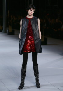 Saint Laurent : Runway - Paris Fashion Week Womenswear Fall/Winter 2014-2015