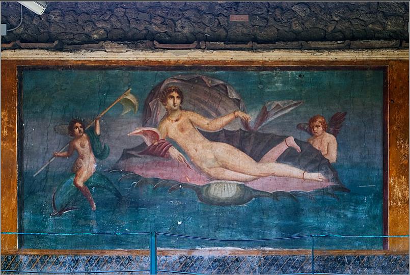 Casa della Venere in Conchiglia - Pompei