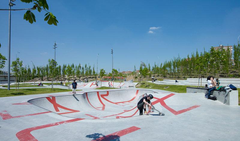 Madrid Rio - Skatepark