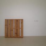 Oro y palos, Palet. 1982-1995. legno di pino e lingotti d'oro di 18 quintali
