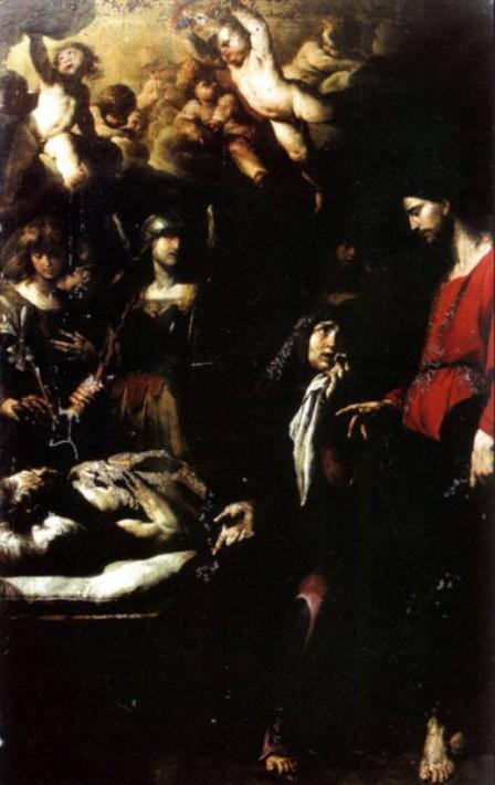 Il transito di San Giuseppe - Andrea Vaccaro 1650