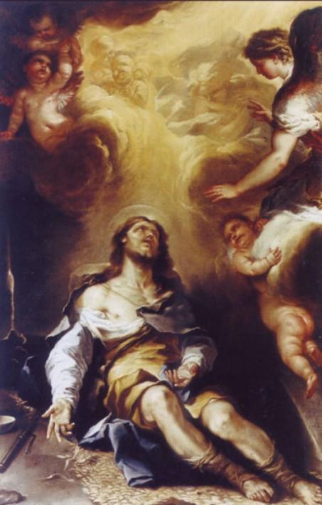 L'estasi di Sant'Alessio - Luca Giordano, 1661