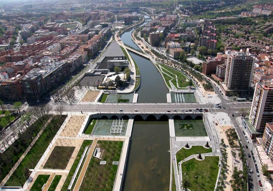 Madrid Rio - Ponte de Segovia