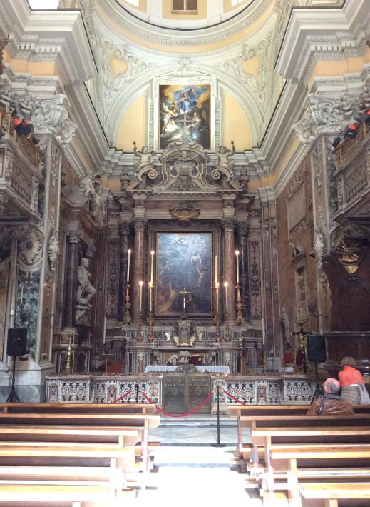 Chiesa di Santa Maria delle Anime del Purgatorio ad Arco, sita in via Tribunali