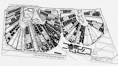 Alvar Aalto - Cimitero Lyngby Siteplan