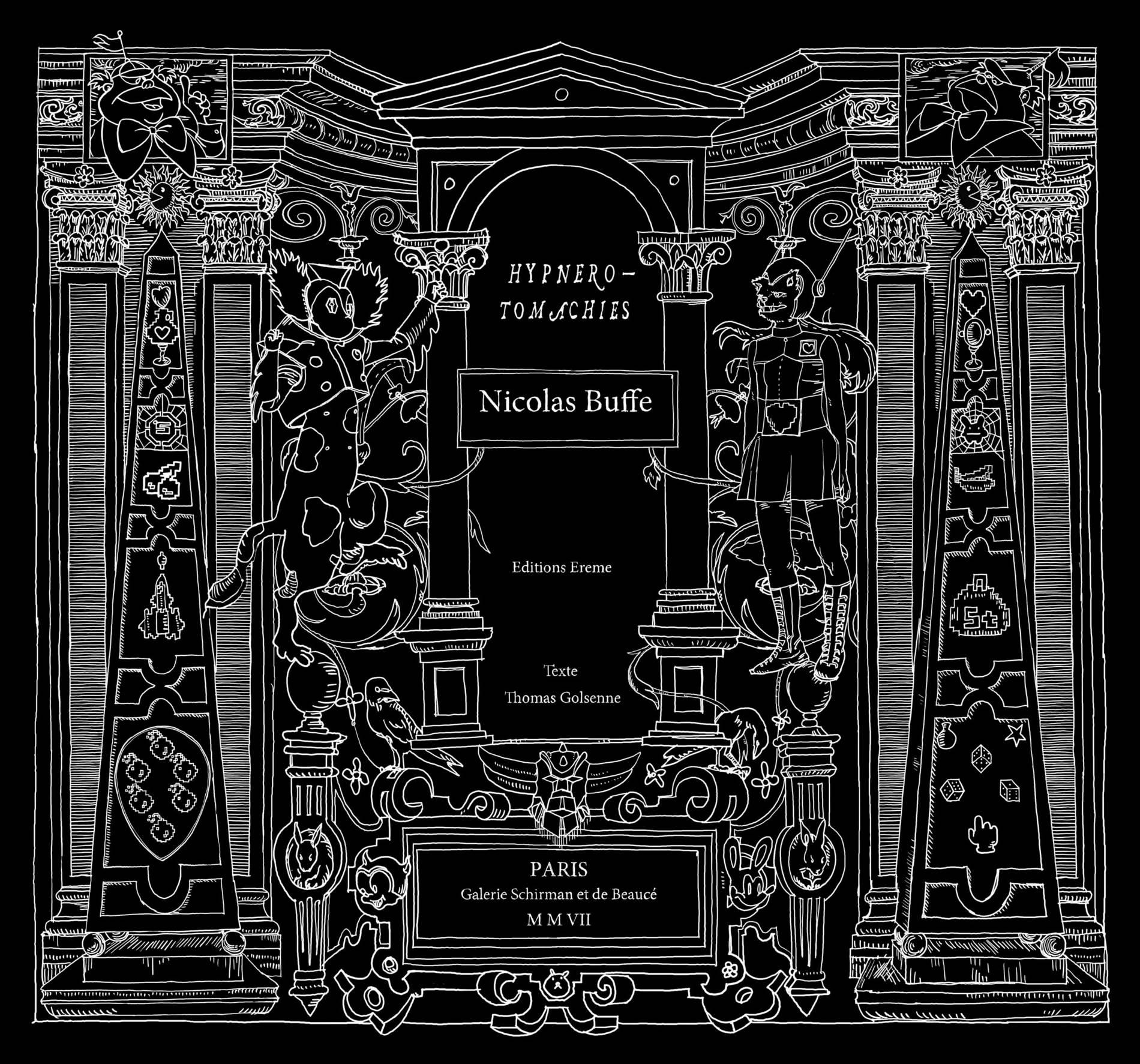 Nicolas Buffe - 2007-09 - Hypnerotomachies - Catalogue Cover