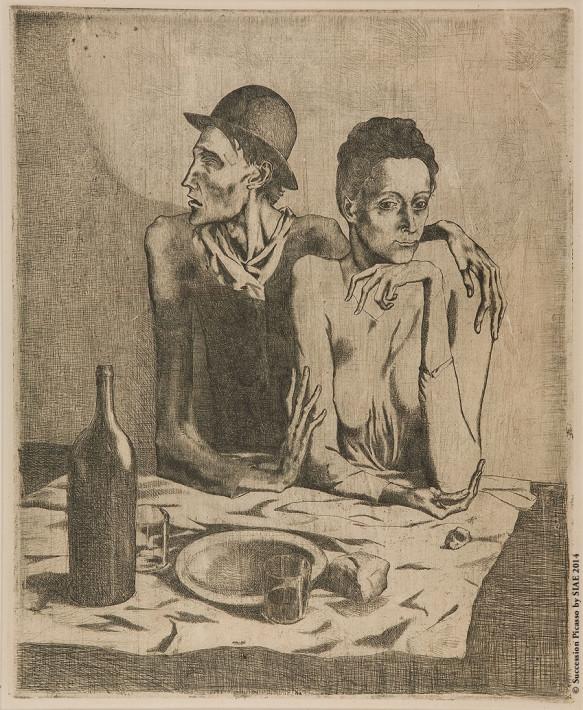 Pablo Picasso - Saltimbanchi