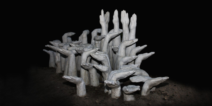 Zombie Bench by NEON