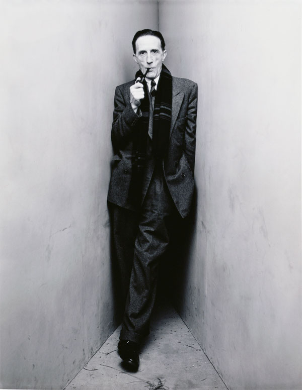 Irving Penn - Marchel Duchamp