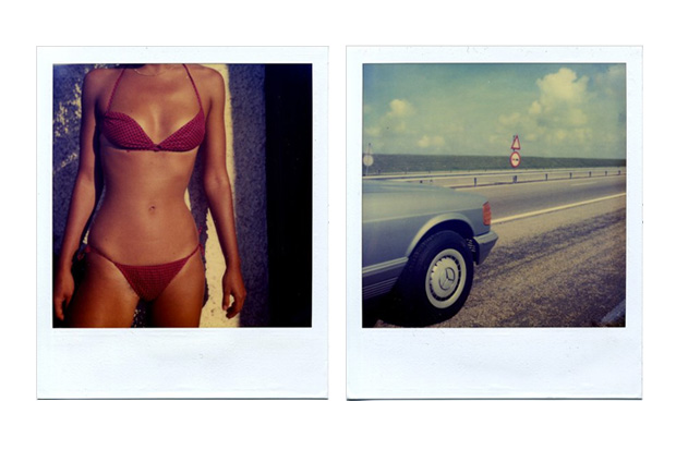 Christopher Makos - Polaroid