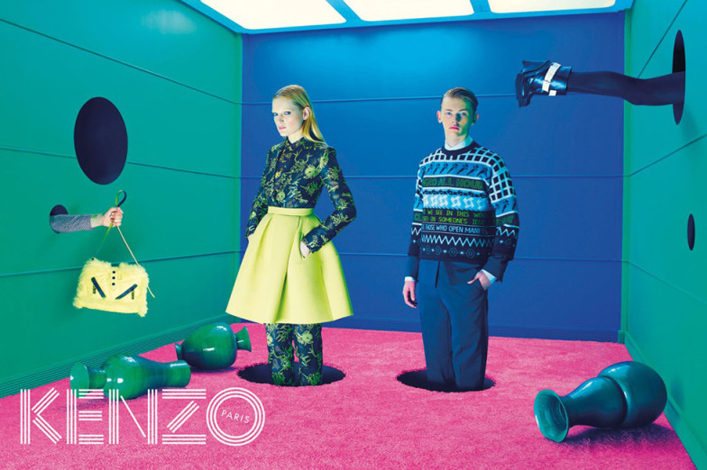 Kenzo x Toiletpaper magazine