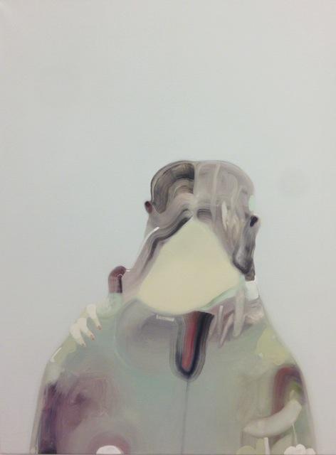 Guglielmo Castelli - Sana e robusta costituzione, 100x70cm olio su tela, 2014