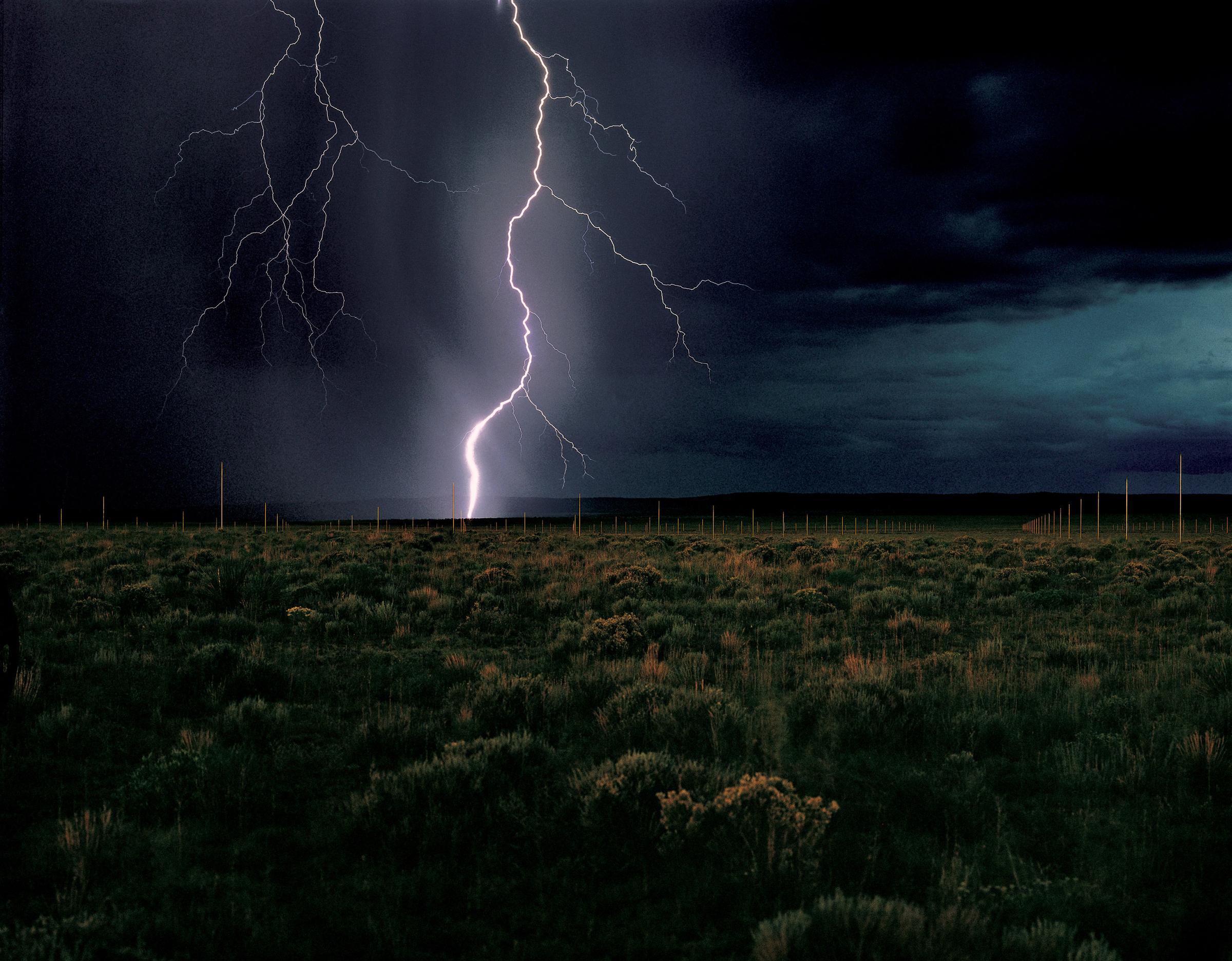 Walter de Maria - Lightning Field