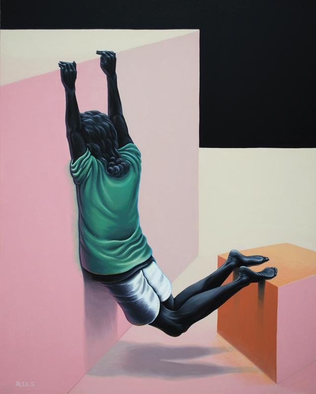 Selfportrait - Alex K Gardner