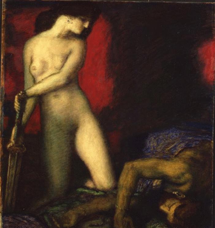 Franz von Stuck - Judith et Holopherne, 1927