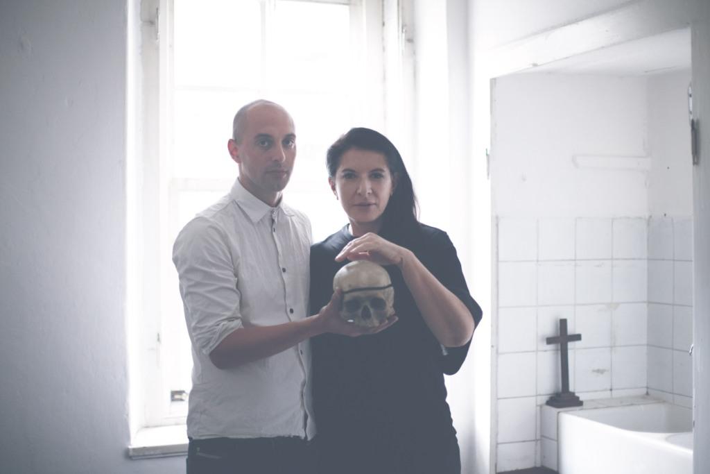 Nico Vascellari e Marina Abramovich, 2013 foto: Alan Chies