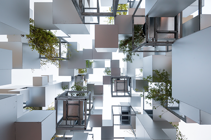 Small Cubes - Photo credit Iwan Baan