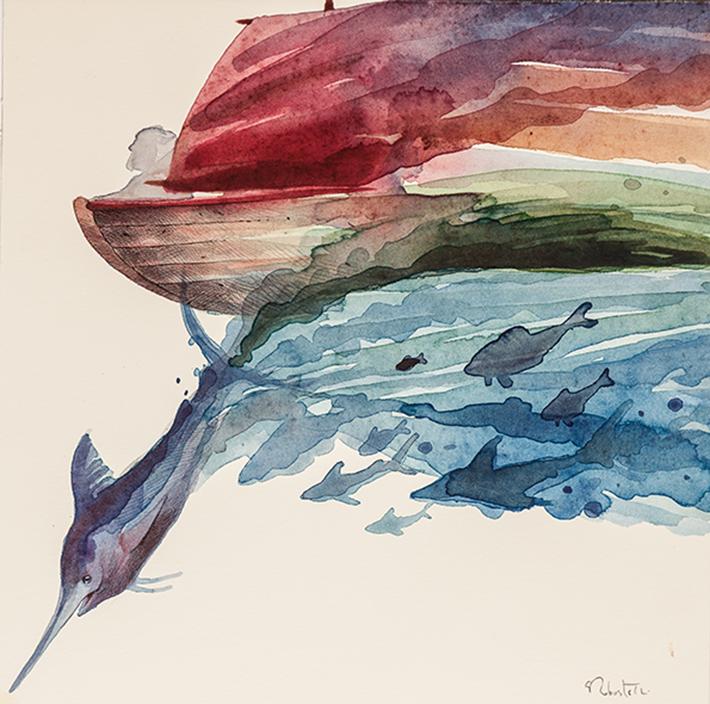 Giovanni Robustelli - Il Vecchio e il Mare, 2010