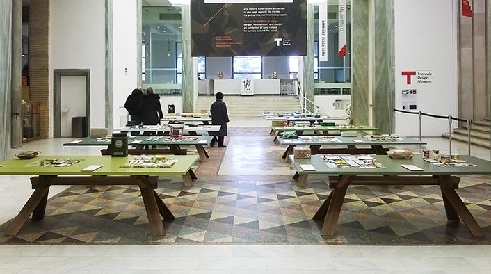La sala principale del Triennale Design Museum