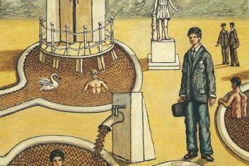 Bagni misteriosi, Giorgio de Chirico