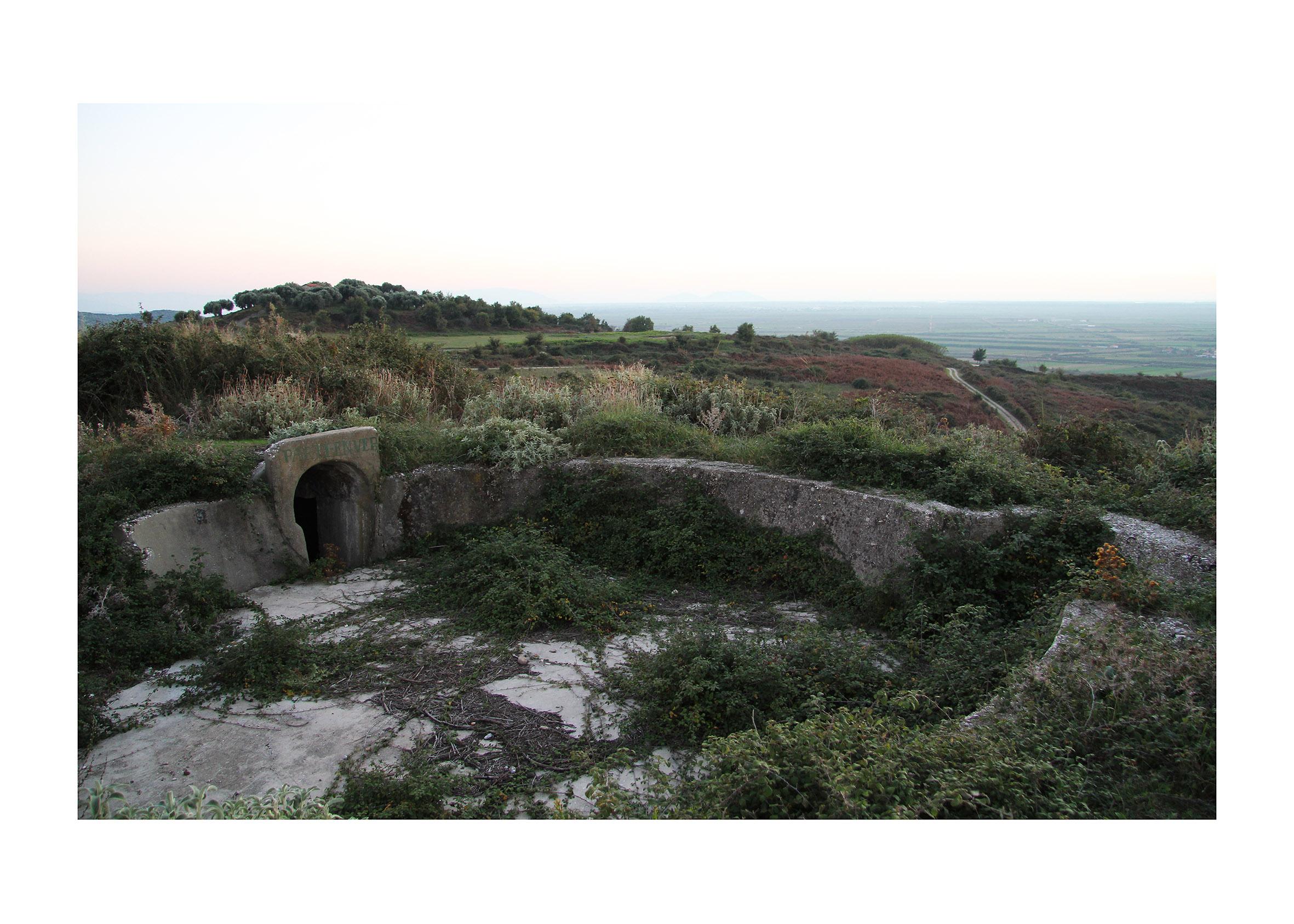 Massimiliano Cafagna, bunker socialista ad Apollonia