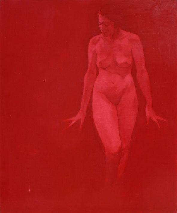 Simone Geraci, Das Wakuum - olio su tela - 120 x 100 cm - 2016