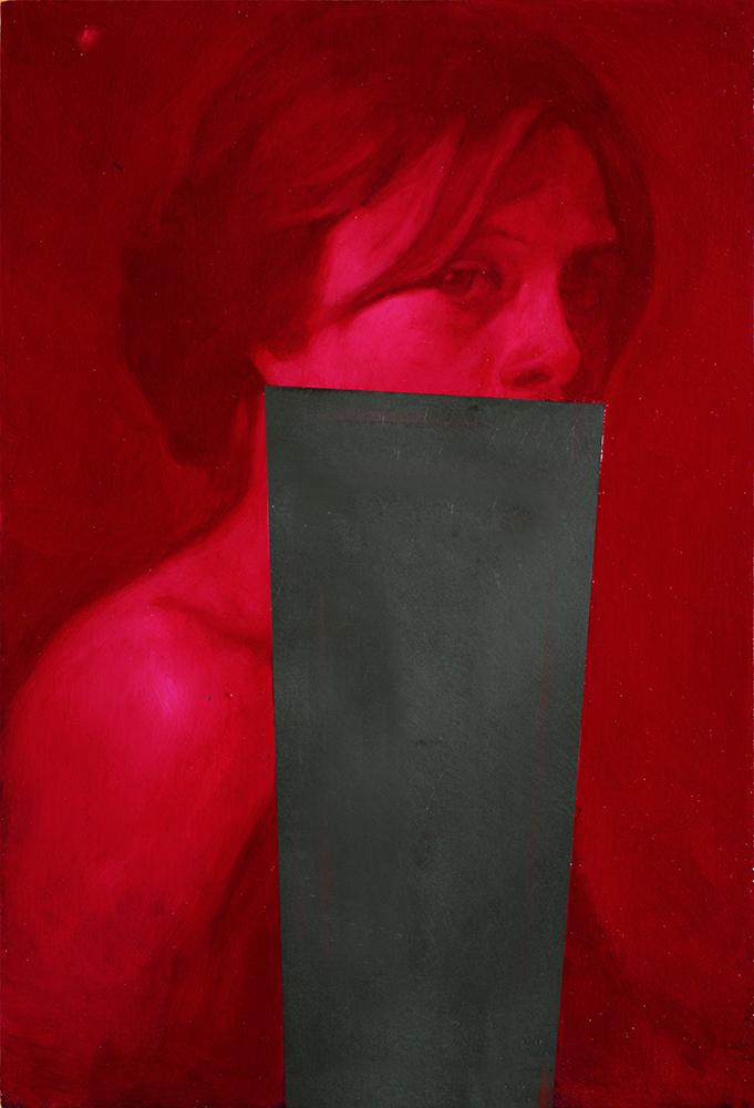Simone Geraci, Stille - olio su ardesia - 30 x 20 cm - 2016 (1)