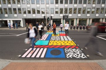 Colourful Crossing / Camille Walala