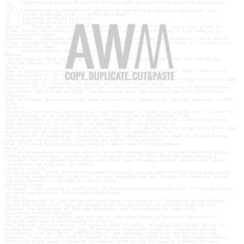 AWM #2