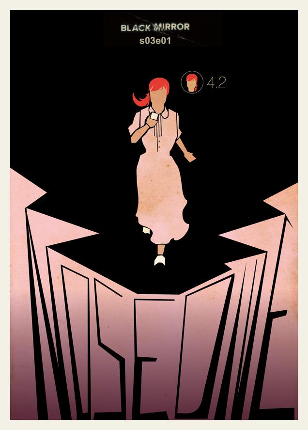 Black Mirror Minimalist Posters / Rafael Barletta