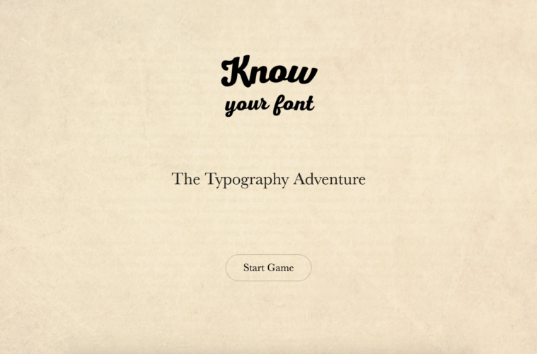 Know your font