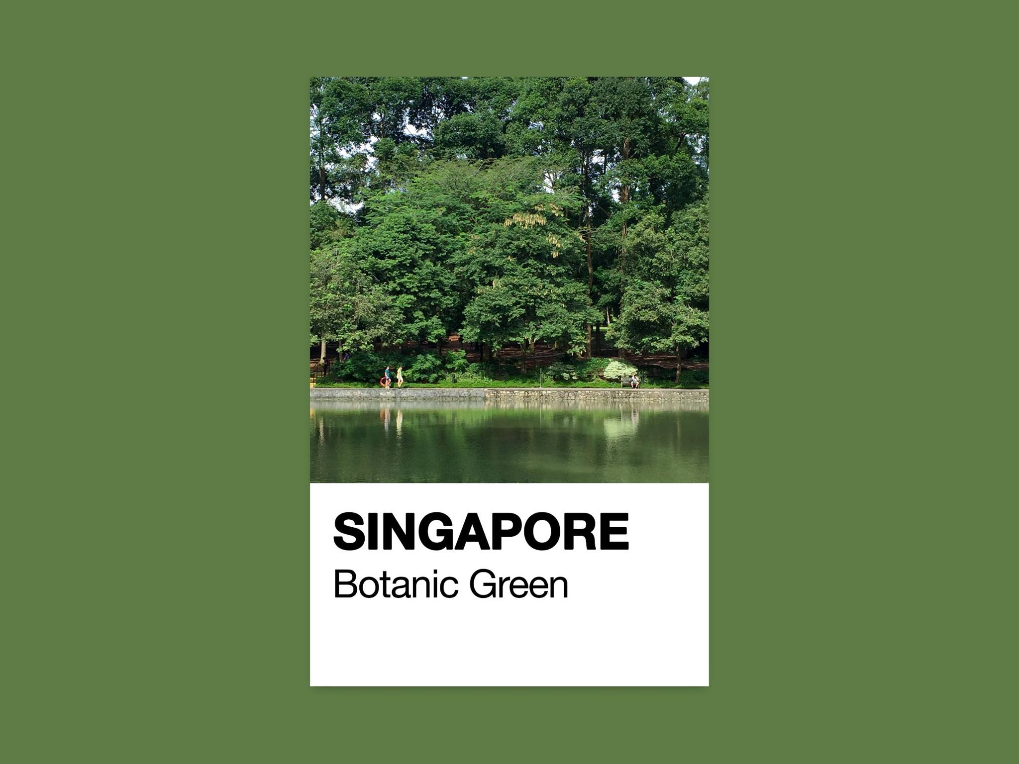 Singapore Pantone / Jonathan Tan