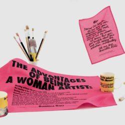 Guerrilla Girls Tea Towel