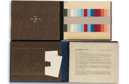 Die Farbenklaviaturen von Le Corbusier © Swann Auction Galleries