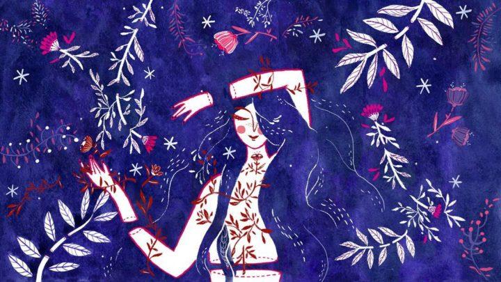 Paula Barbaro in 5 disegnini