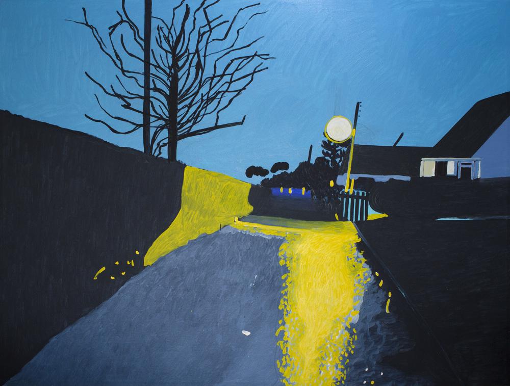 Walk Night (Turquoise), 2017