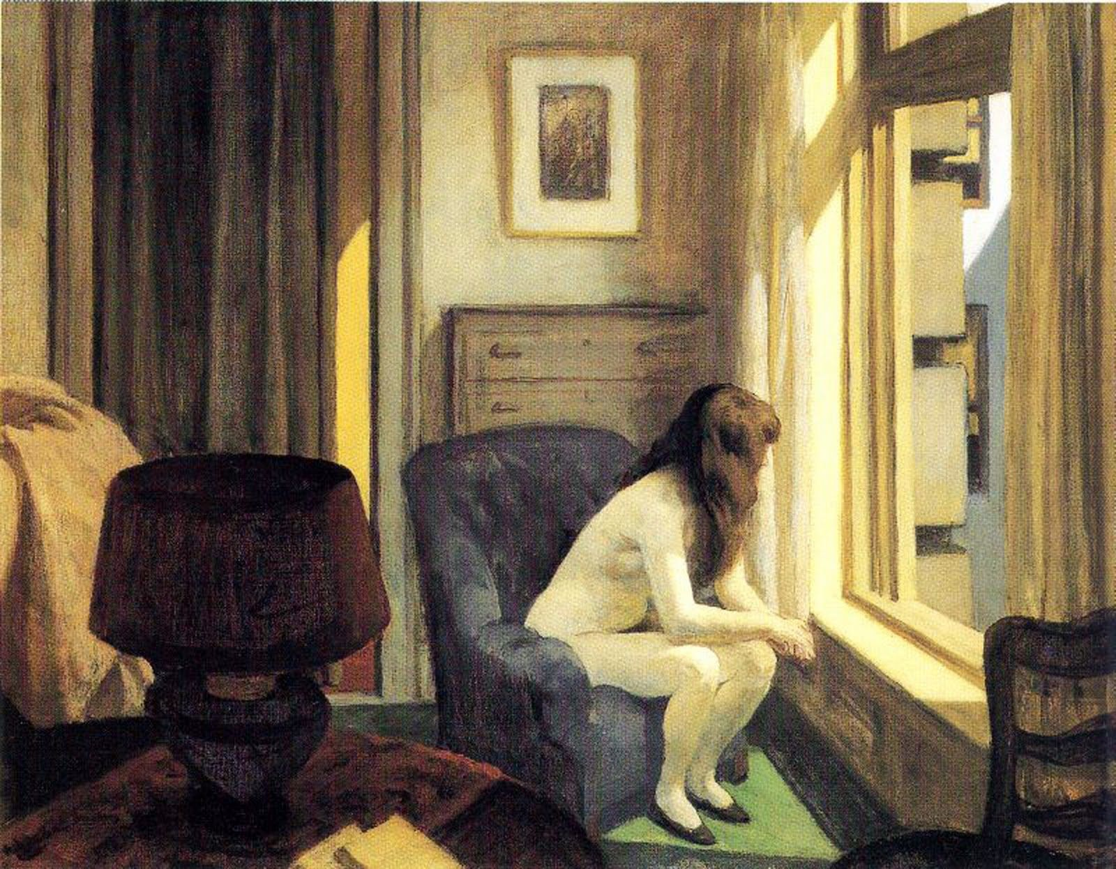 11 am – Edward Hopper, 1926
