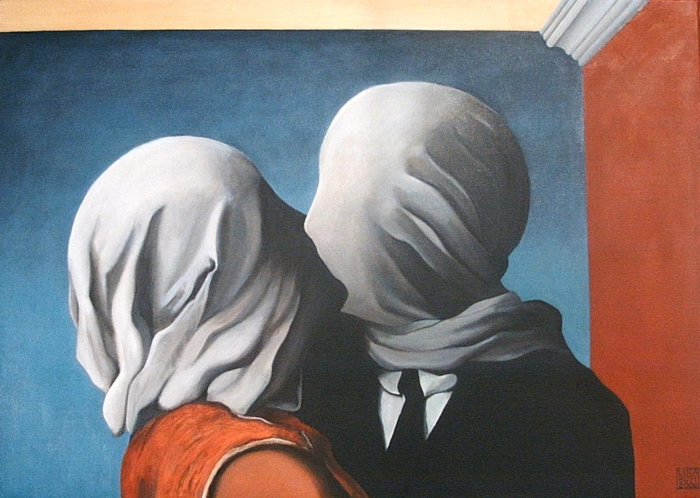 René Magritte – Les Amants (1928)