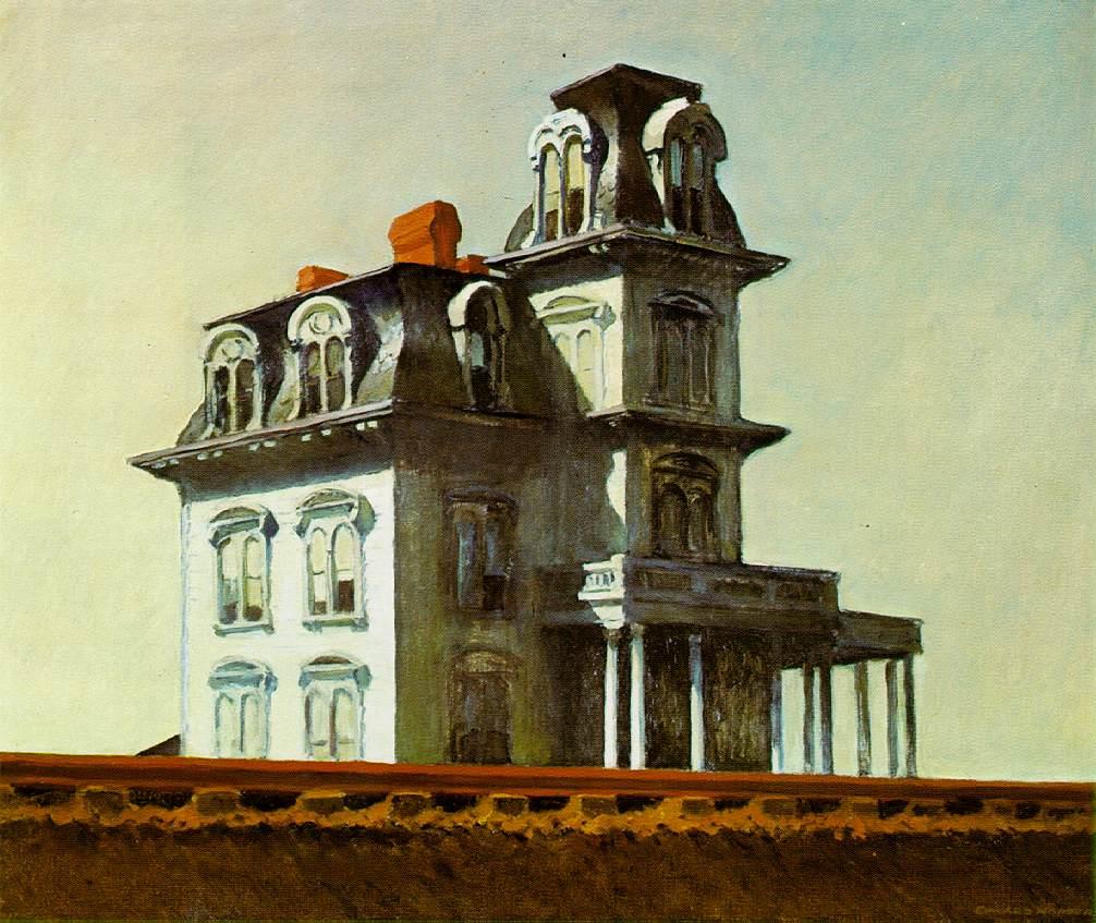 House by the Railroad – Edward Hopper, 1925