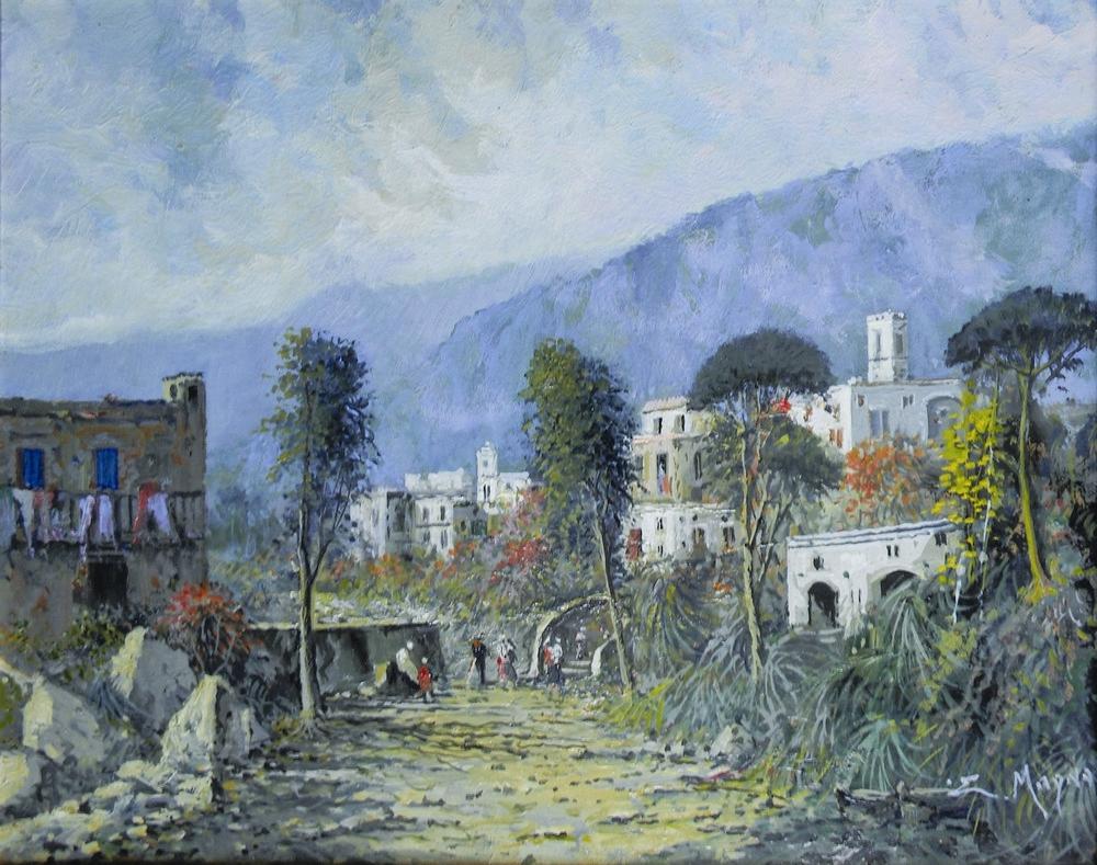 Eugenio Magno - Verso il Paese