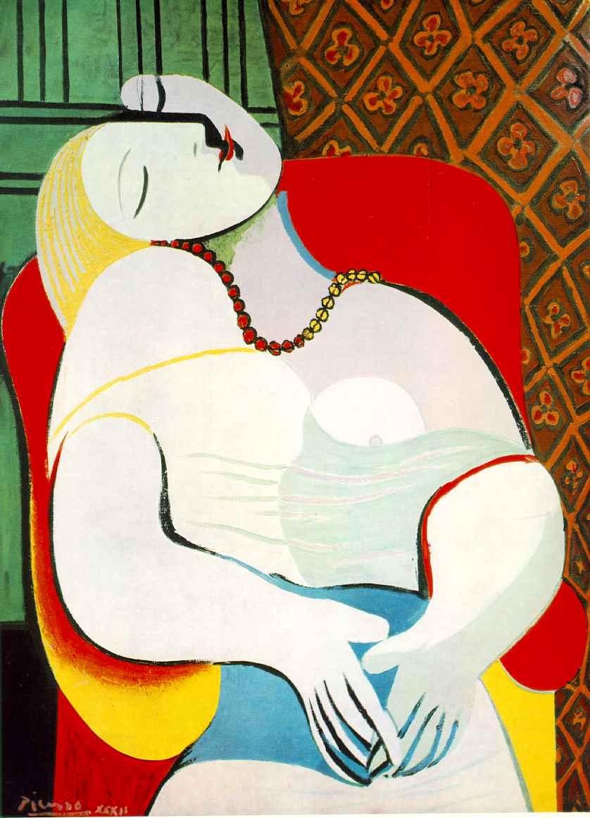 Pablo Picasso - The Dream