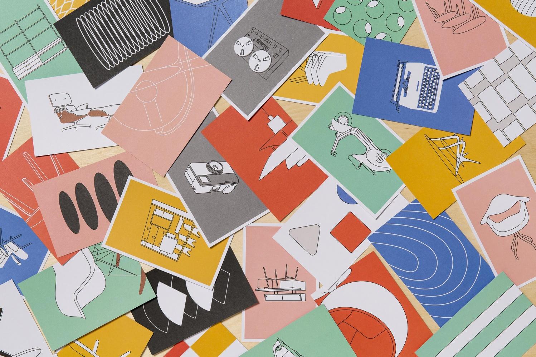 c6ae9e2b1b9a Mid-century Modern: 100 Postcards of Iconic Designs - Artwort