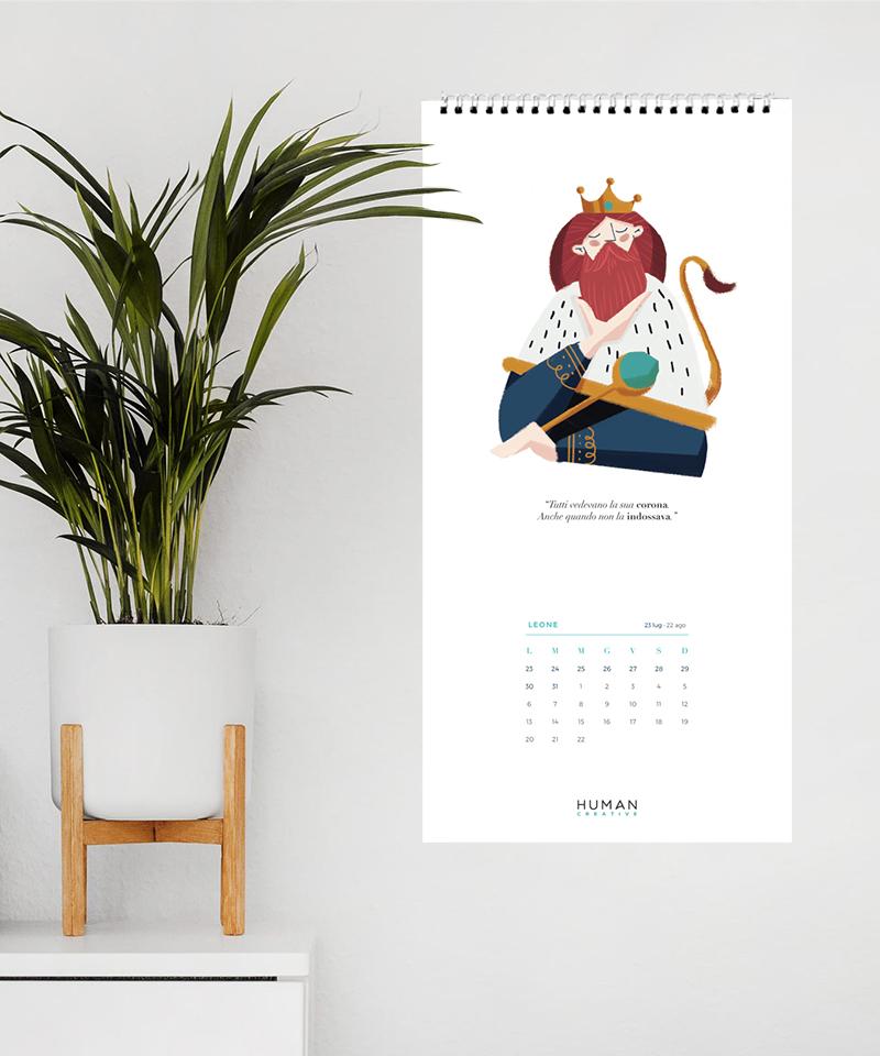 Calendario Zodiacale.Humanz Il Calendario Zodiacale Di Human Creative