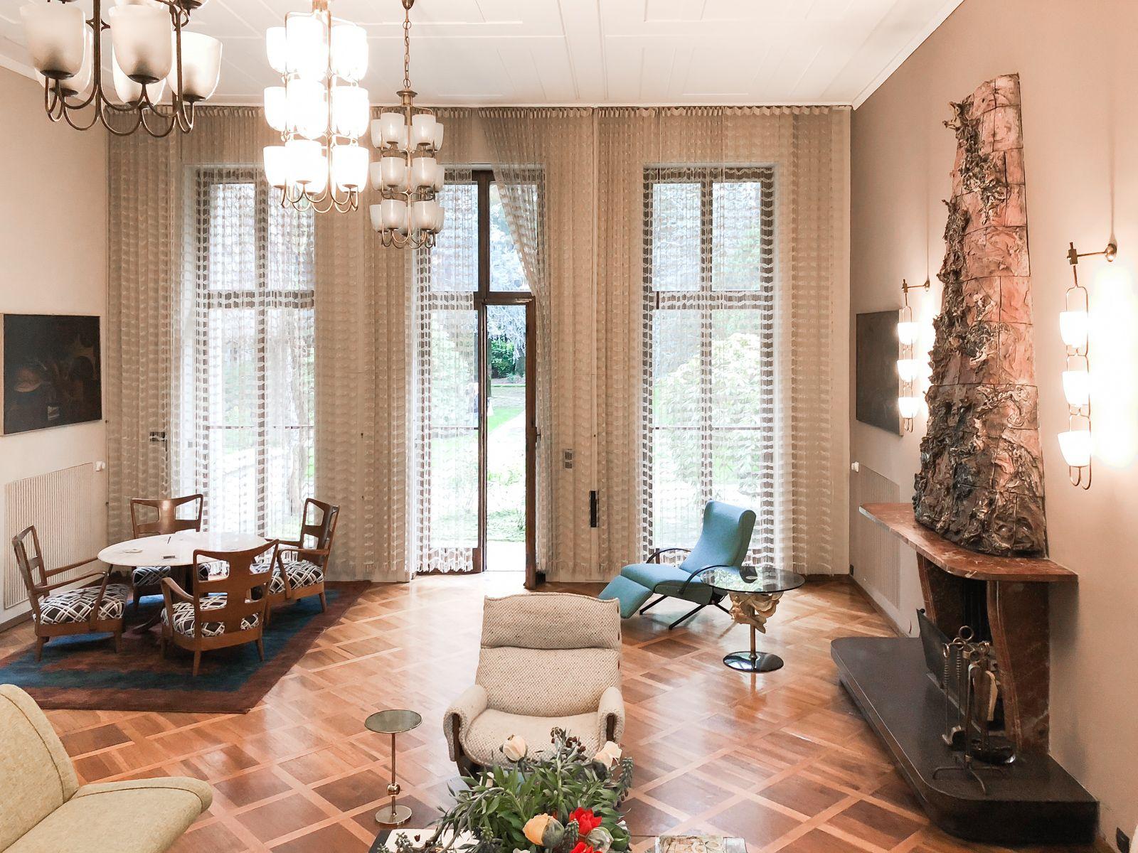 Architettura E Design case d'artista: villa borsani – un intreccio tra arte